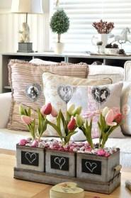 Cute Farmhouse Style Valentine Decorations 03