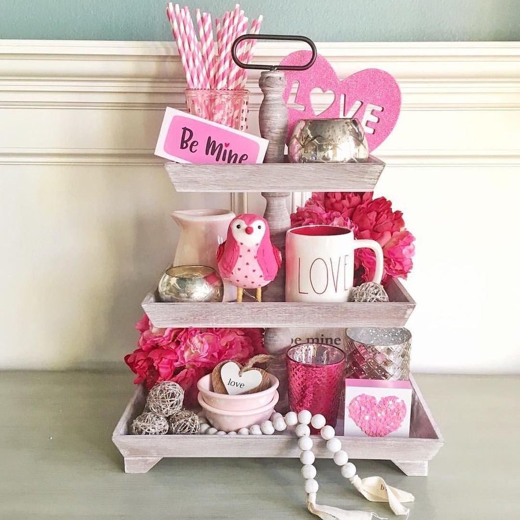 Cute Farmhouse Style Valentine Decorations 41