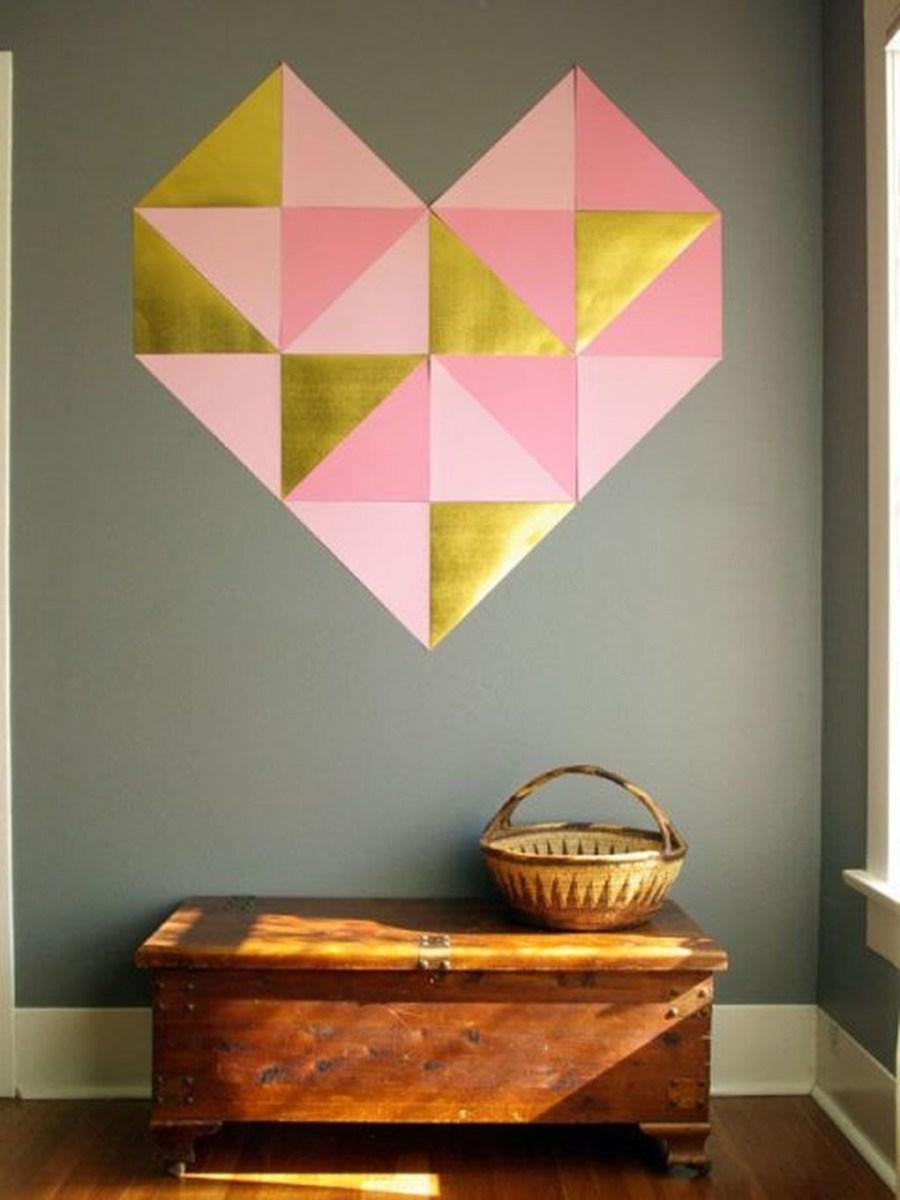Cute Valentine Wall Art Design Ideas 01