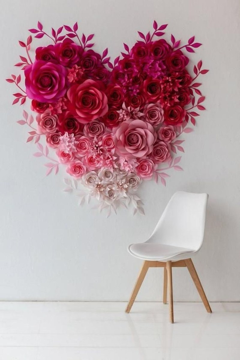 Cute Valentine Wall Art Design Ideas 04