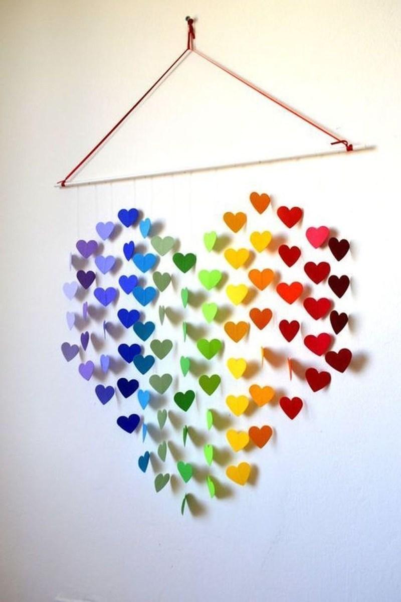 Cute Valentine Wall Art Design Ideas 10