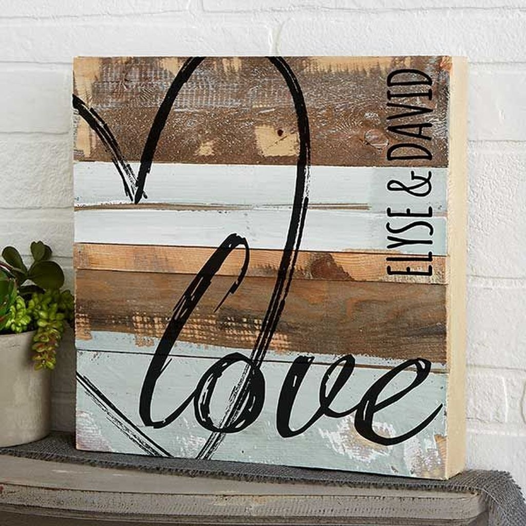 Cute Valentine Wall Art Design Ideas 25