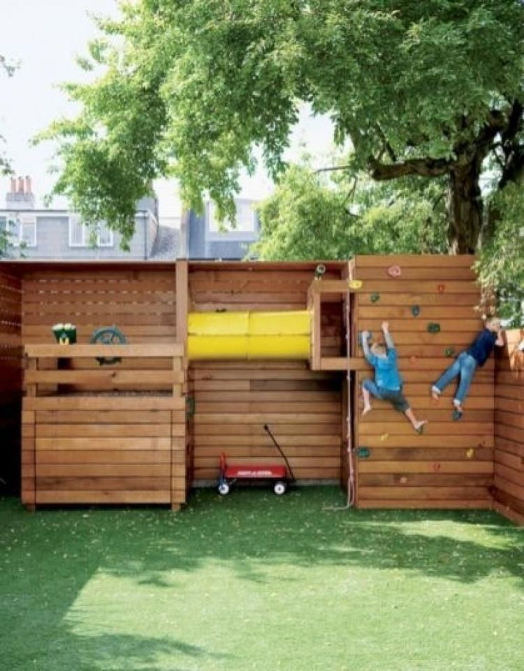 Gorgeous Backyard Playground Kids Design Ideas 13