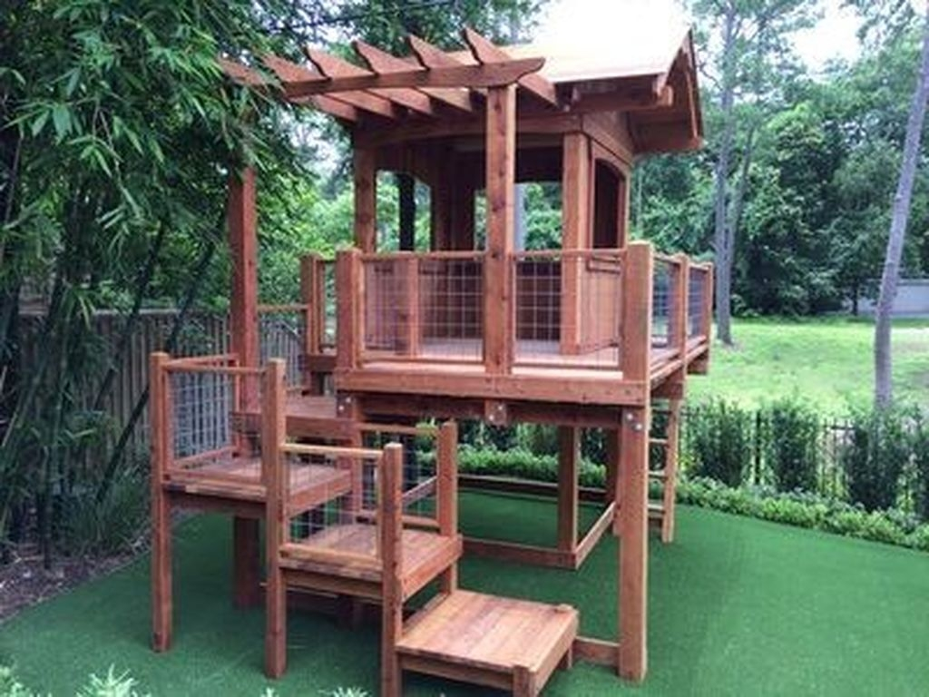 Gorgeous Backyard Playground Kids Design Ideas 30