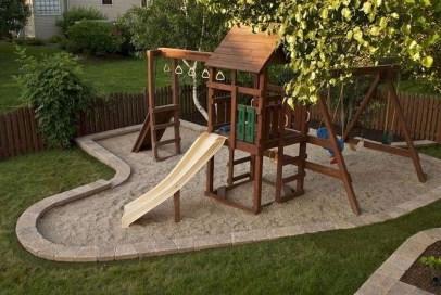 Gorgeous Backyard Playground Kids Design Ideas 31