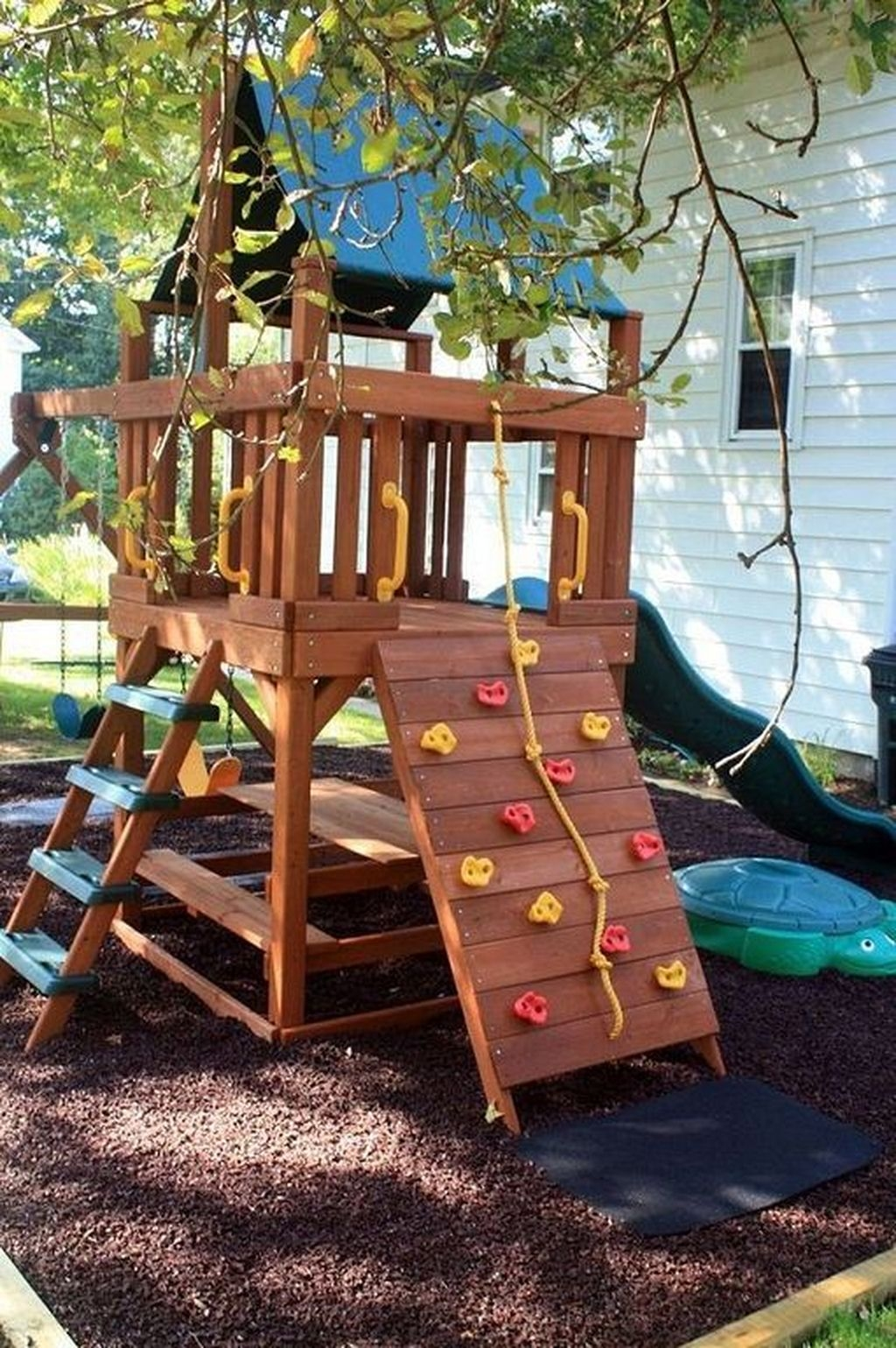 Gorgeous Backyard Playground Kids Design Ideas 35