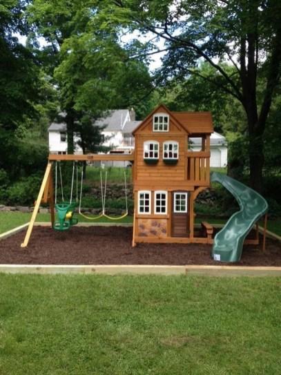 Gorgeous Backyard Playground Kids Design Ideas 38