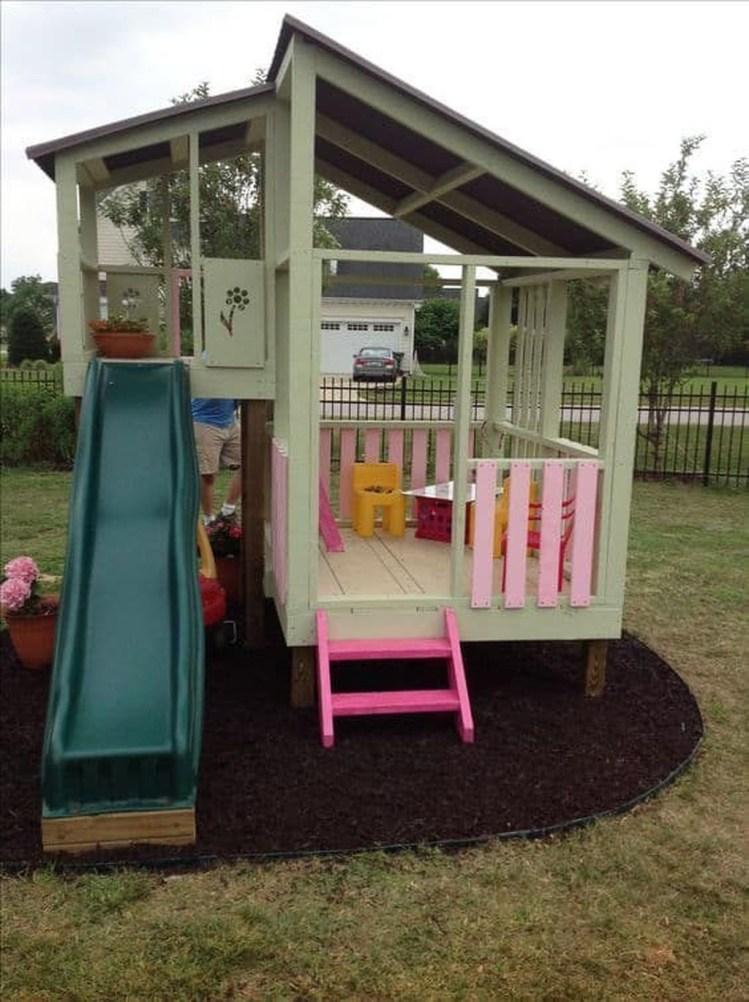 Gorgeous Backyard Playground Kids Design Ideas 41