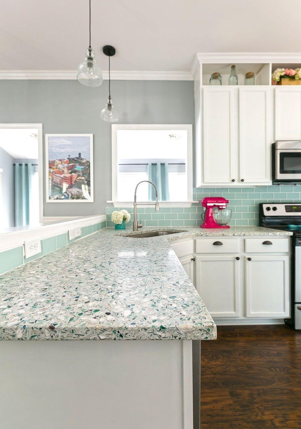 Gorgeous Coastal Kitchen Design Ideas 07