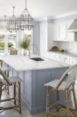 Gorgeous Coastal Kitchen Design Ideas 13