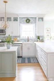 Gorgeous Coastal Kitchen Design Ideas 42