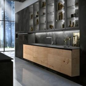 Inspiring Dark Grey Kitchen Design Ideas 08