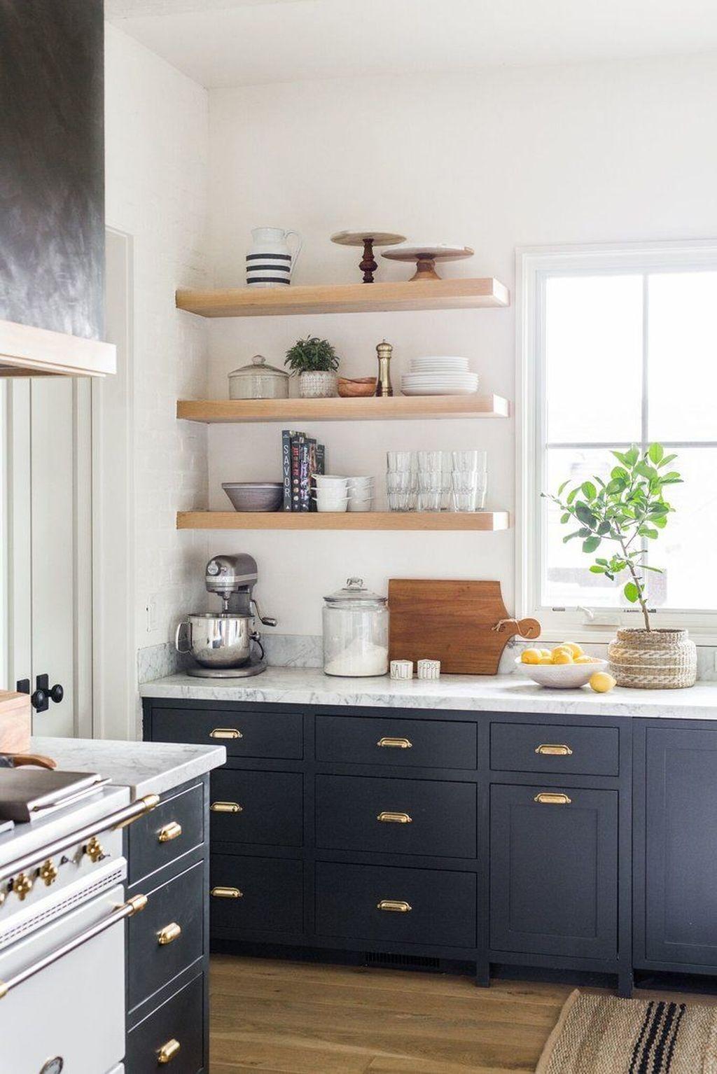 Inspiring Dark Grey Kitchen Design Ideas 10