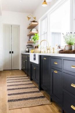 Inspiring Dark Grey Kitchen Design Ideas 16