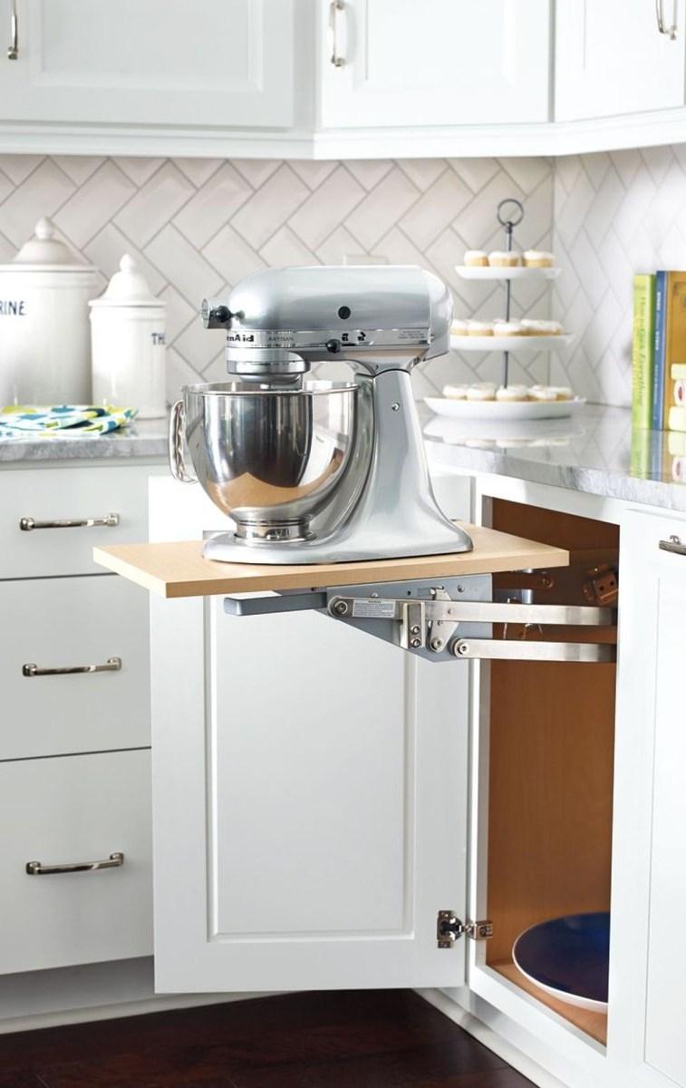 Inspiring Kitchen Storage Design Ideas 46