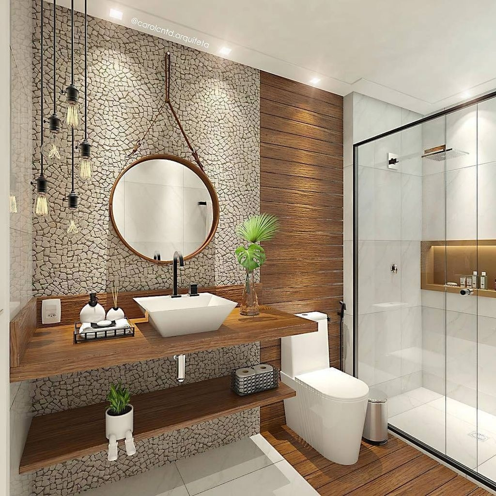 Popular Small Bathroom Remodel Ideas 42