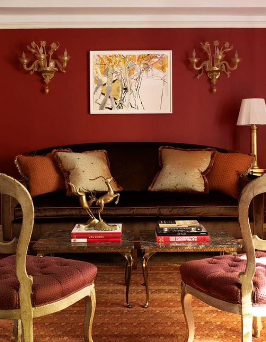 Romantic Living Room Decor With Valentine Themes 18