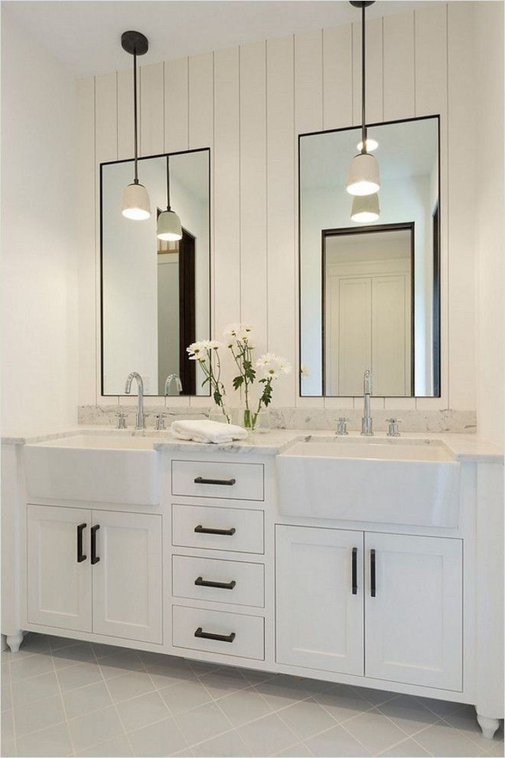 Stunning Bathroom Mirror Decor Ideas 07