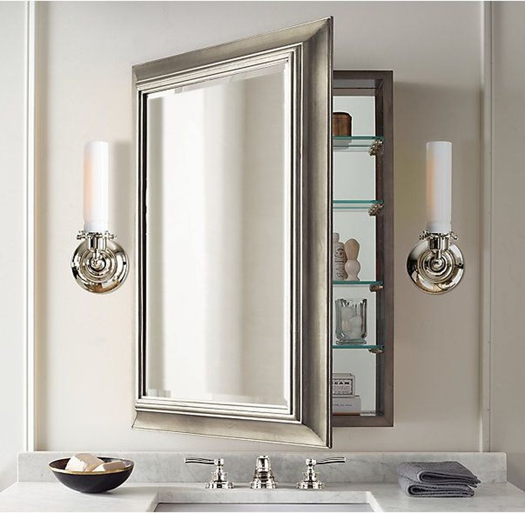 Stunning Bathroom Mirror Decor Ideas 08