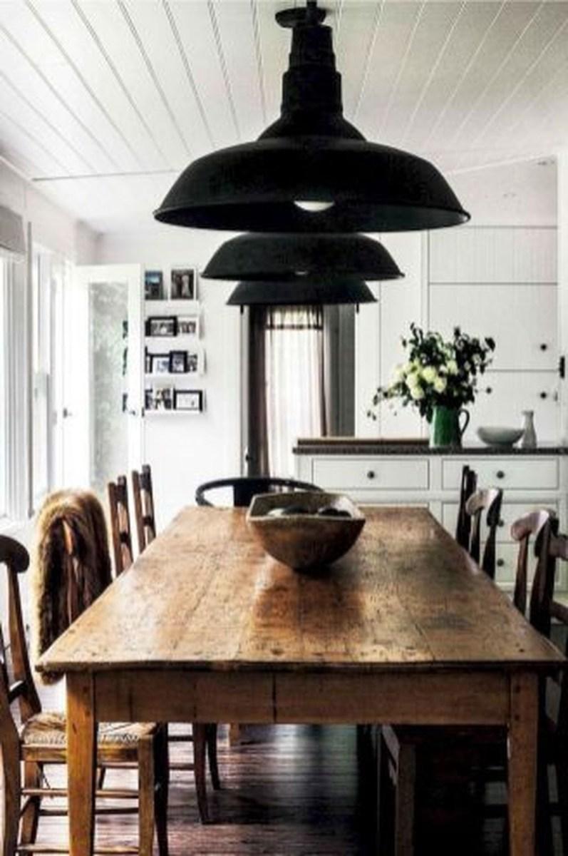 Stunning Farmhouse Dining Room Decoration Ideas 05