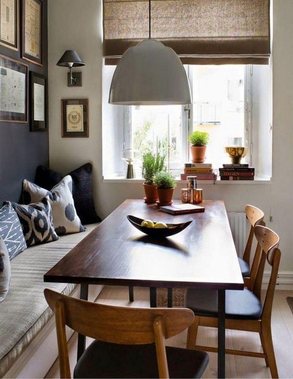 Stunning Farmhouse Dining Room Decoration Ideas 47