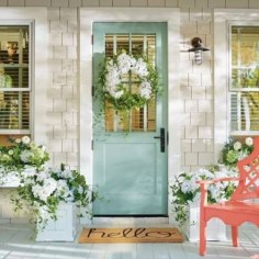 Stunning Valentines Day Front Porch Decor Ideas 09