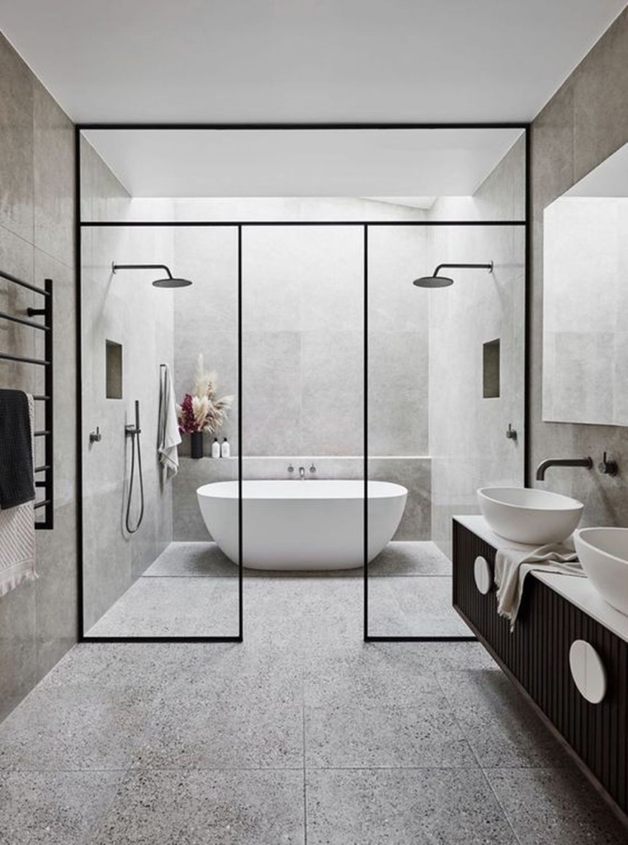 The Best Ideas To Creating Cozy Minimalist Bathroom 17