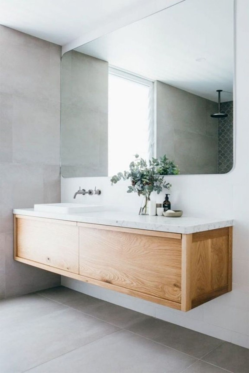 The Best Ideas To Creating Cozy Minimalist Bathroom 26