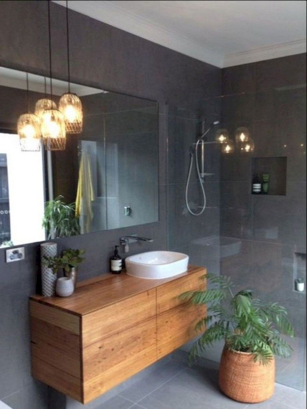 Totally Adorable Small Bathroom Decor Ideas 44