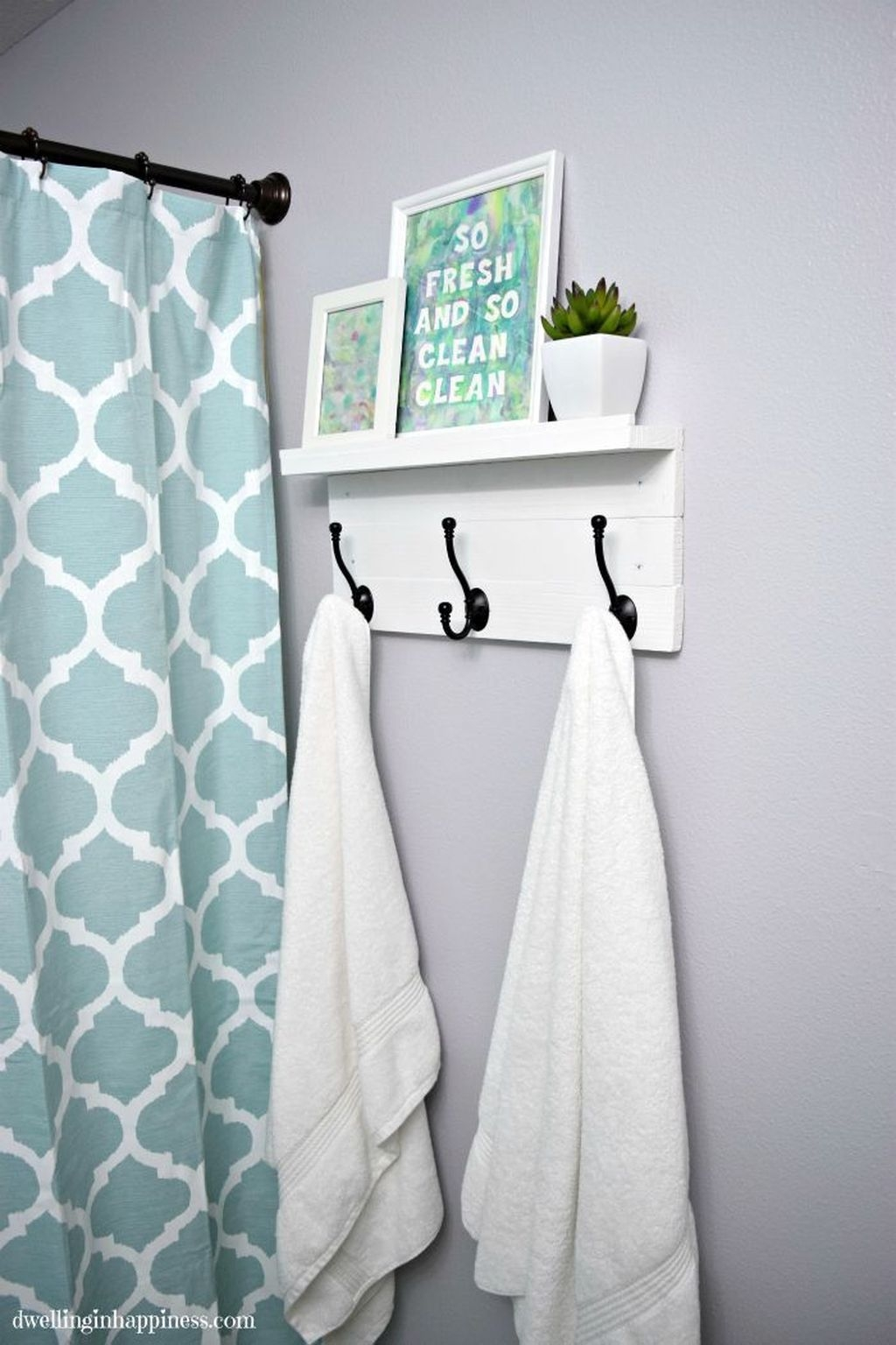 Totally Adorable Small Bathroom Decor Ideas 47