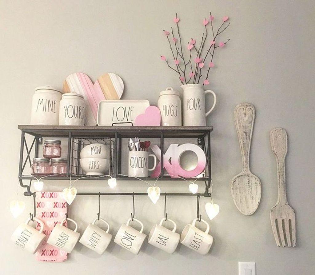 Totally Adorable Valentine Kitchen Decor Ideas 26