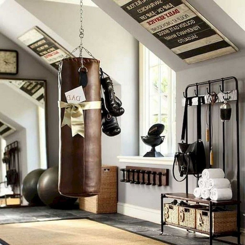 Home Gym Design Ideas: Amazing Home Gym Room Design Ideas 15