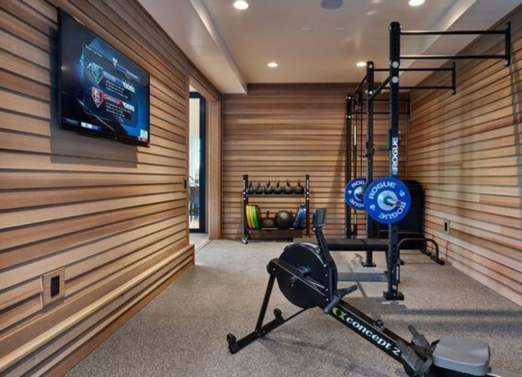 Amazing Home Gym Room Design Ideas 25