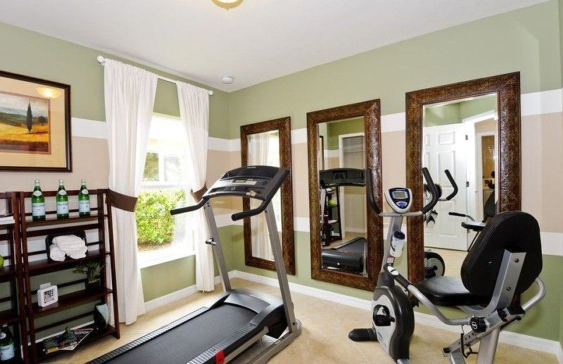 Amazing Home Gym Room Design Ideas 31