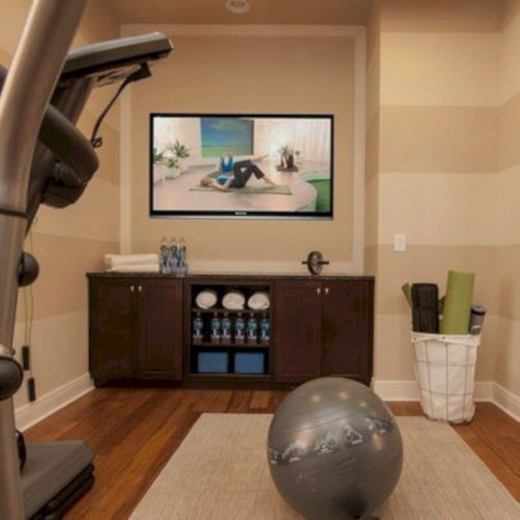 Amazing Home Gym Room Design Ideas 32