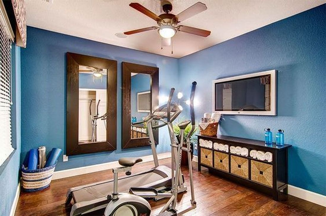 Amazing Home Gym Room Design Ideas 33