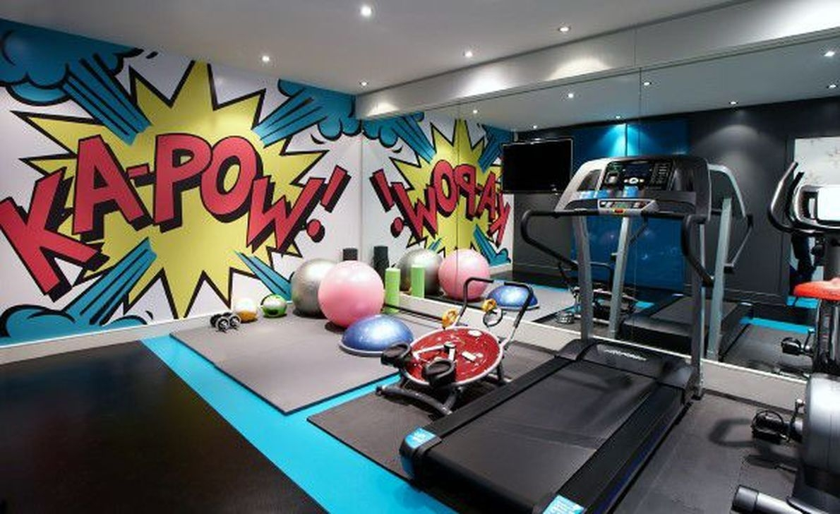 Amazing Home Gym Room Design Ideas 38