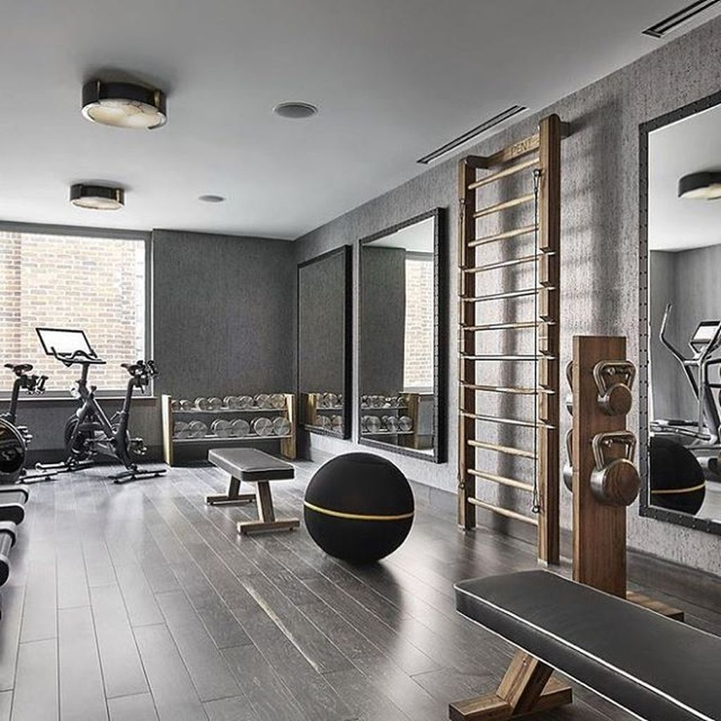 Home Gym Design Ideas: Amazing Home Gym Room Design Ideas 43