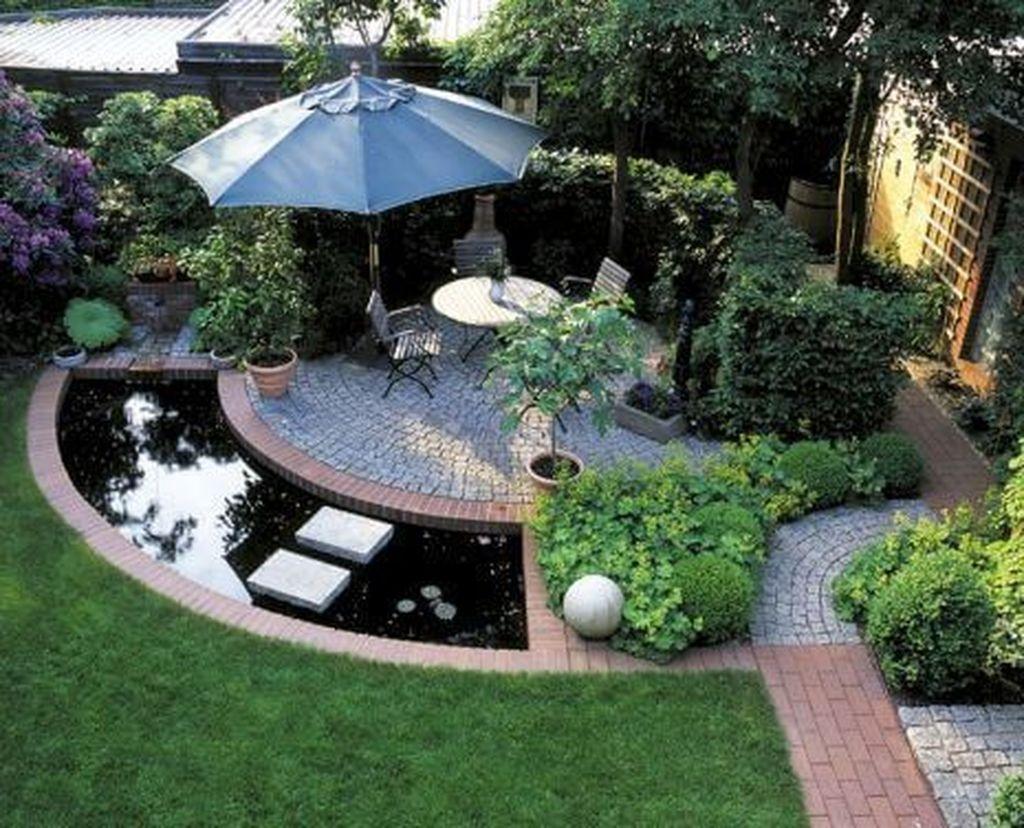 Brilliant Small Backyard Design Ideas On A Budget 38