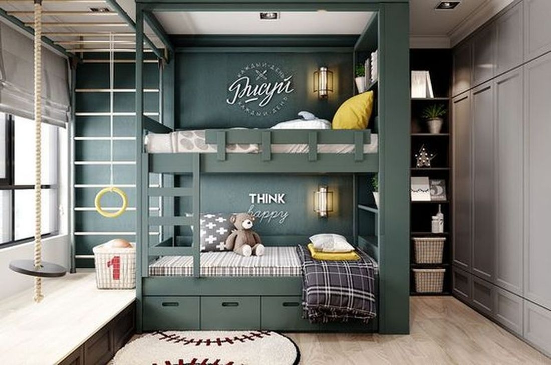 Inspiring Kids Room Design Ideas 24
