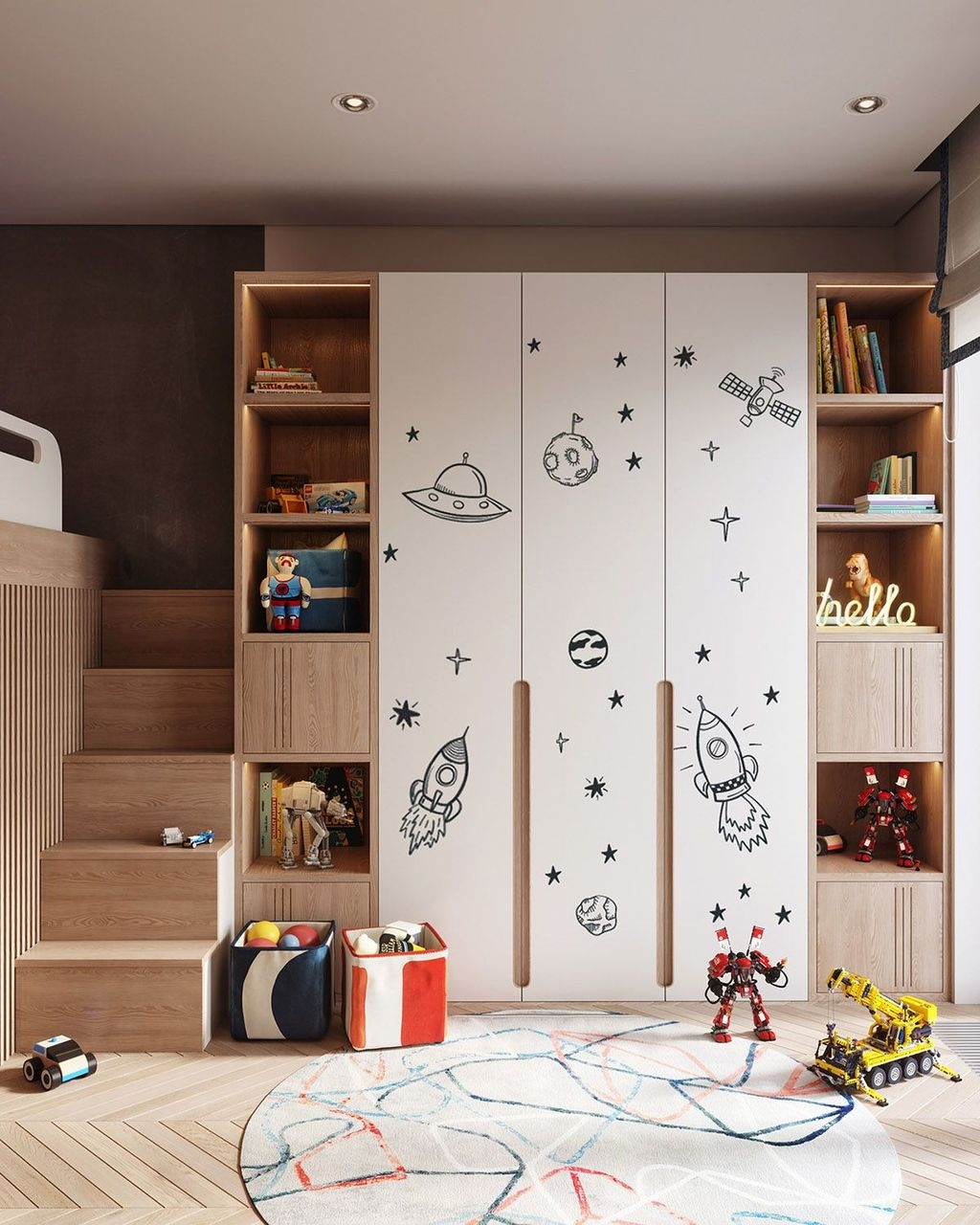 Inspiring Kids Room Design Ideas 43