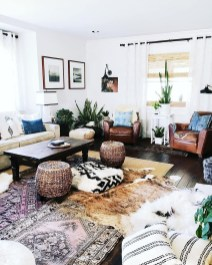 The Best Bohemian Farmhouse Decorating Ideas For Your Living Room 12
