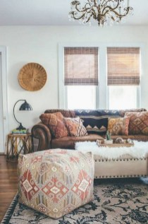 The Best Bohemian Farmhouse Decorating Ideas For Your Living Room 20
