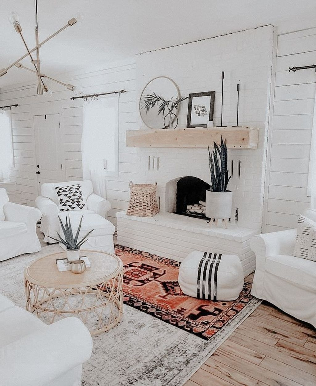The Best Bohemian Farmhouse Decorating Ideas For Your Living Room 32