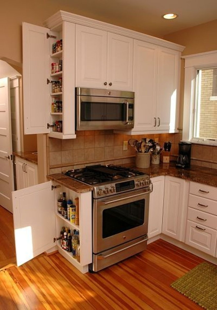 Totally Inspiring Small Kitchen Design Ideas For Your Small Home 27