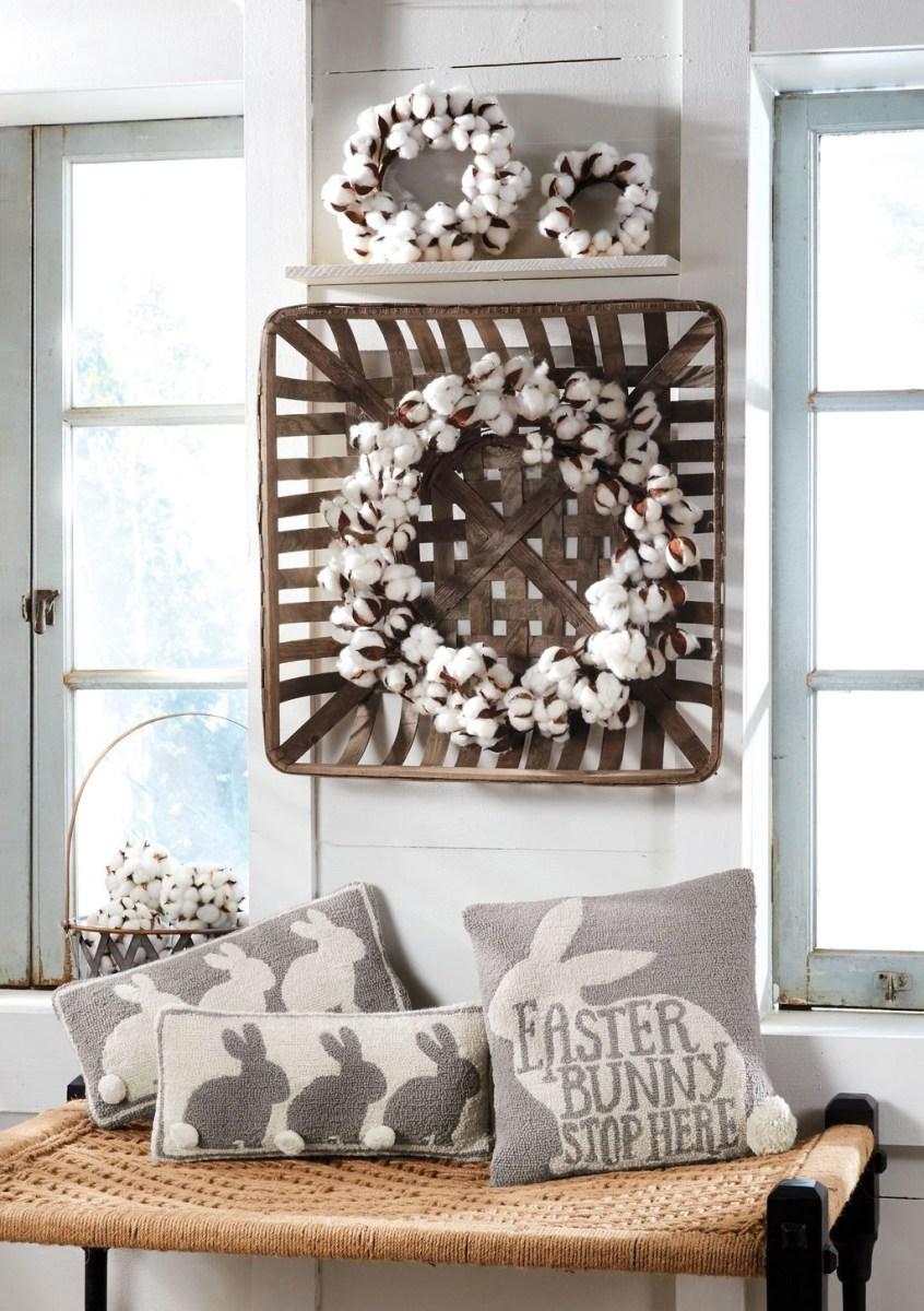Lovely Easter Living Room Decor Ideas 13