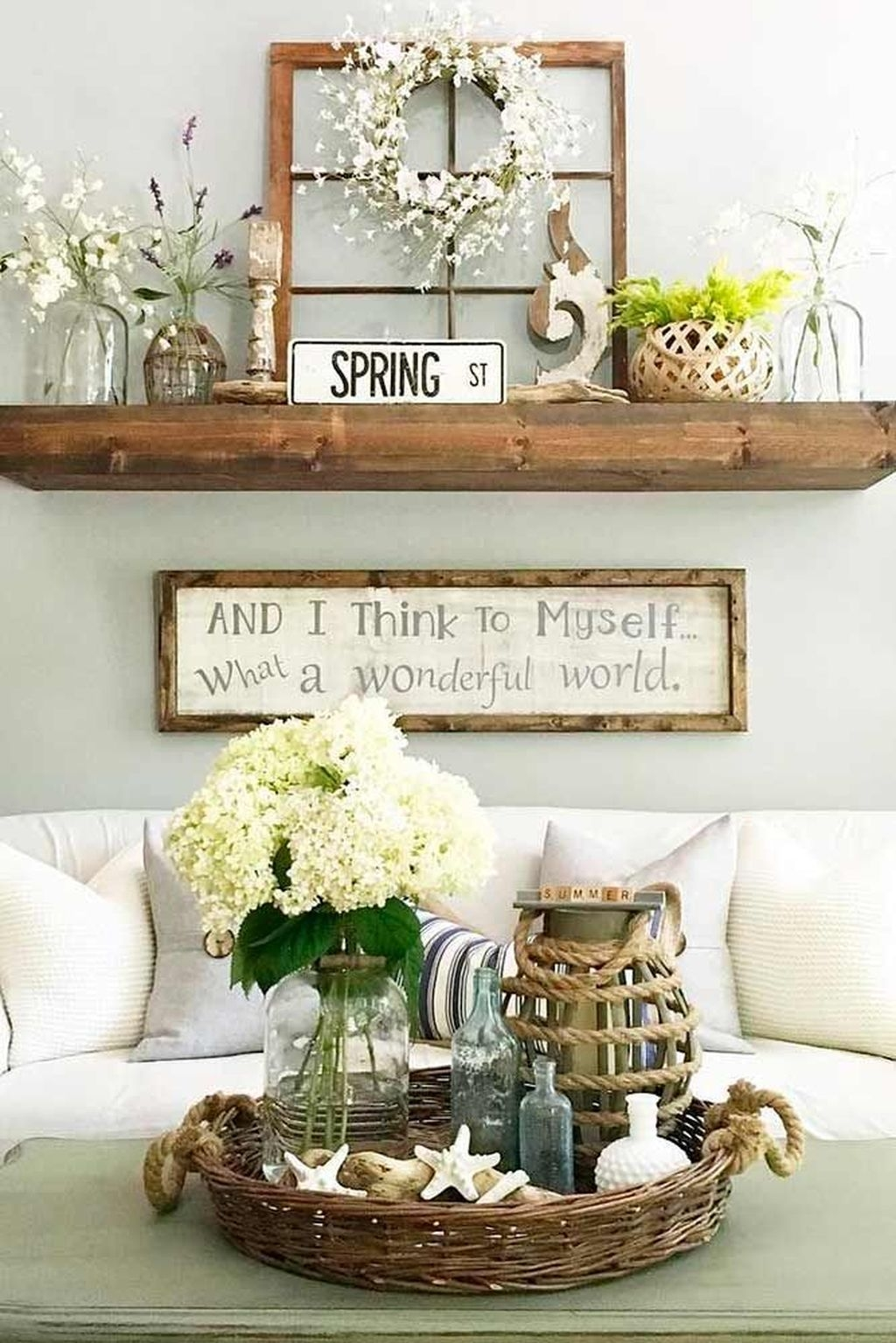 Lovely Easter Living Room Decor Ideas 15