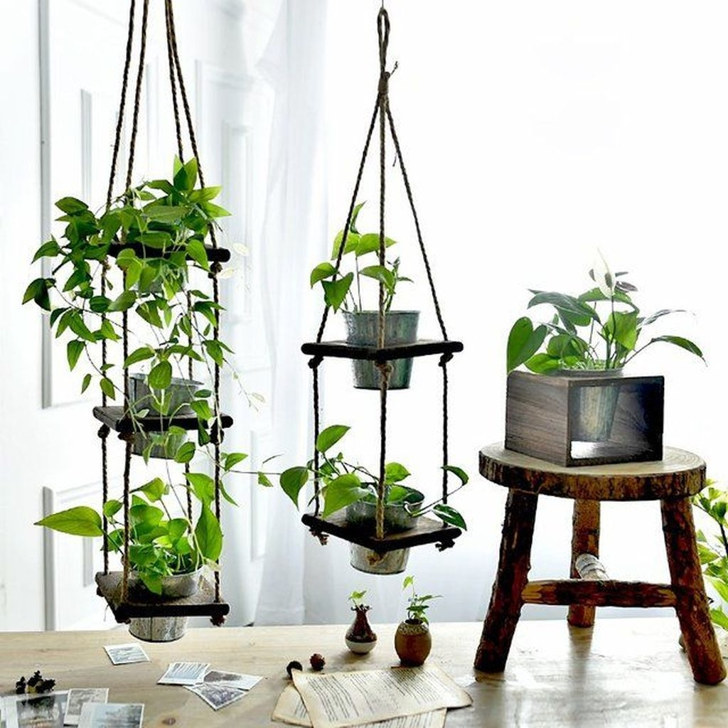 Stunning Small Planters Ideas To Maximize Your Interior Design 15