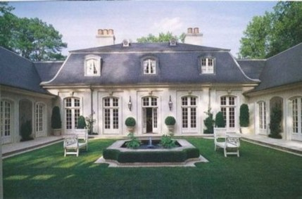 Stylish French Country Exterior For Your Home Design Inspiration 04