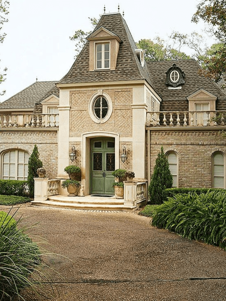 Stylish French Country Exterior For Your Home Design Inspiration 13